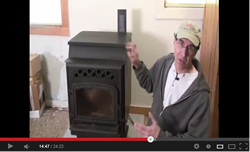 Hot and Cold TV - Pellet stove