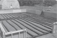 réservoir de lait en vrac pour le stockage de chaleur solaire